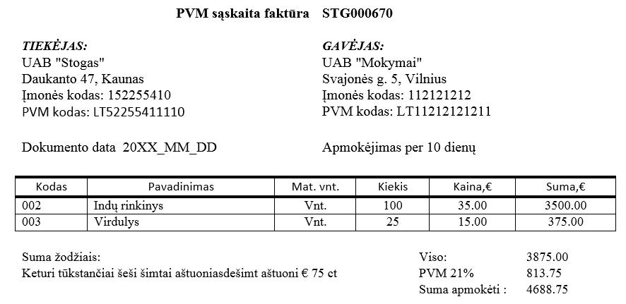 Papildomų išlaidų įtraukimas į pirktų prekių savikainą   Rivile GAMA gidas
